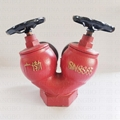 SNSSW65 Fire Hydrant Two Way Two Outlet