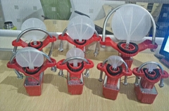 Fire Pump Adapter Saddle Type Water Flow Indicator Reducing Valve fighting