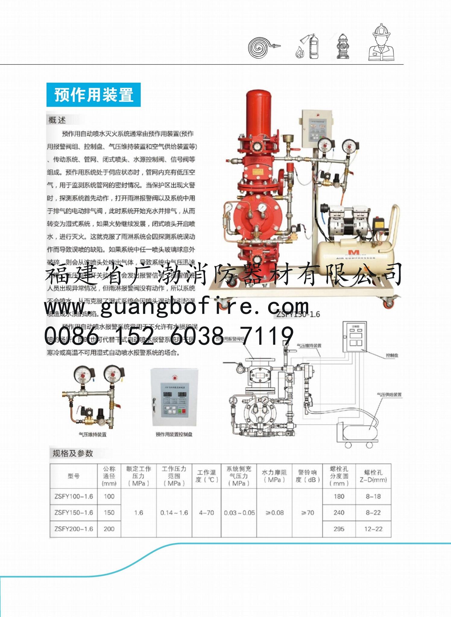 Fire Pump Adapter Saddle Type Water Flow Indicator Reducing Valve fighting 4