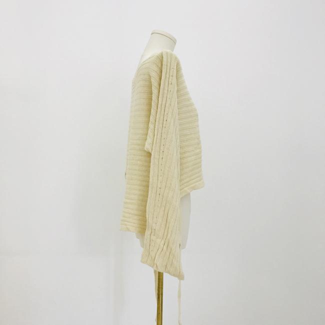 Straight neck front short back long fashion women's knitting Pullover 3