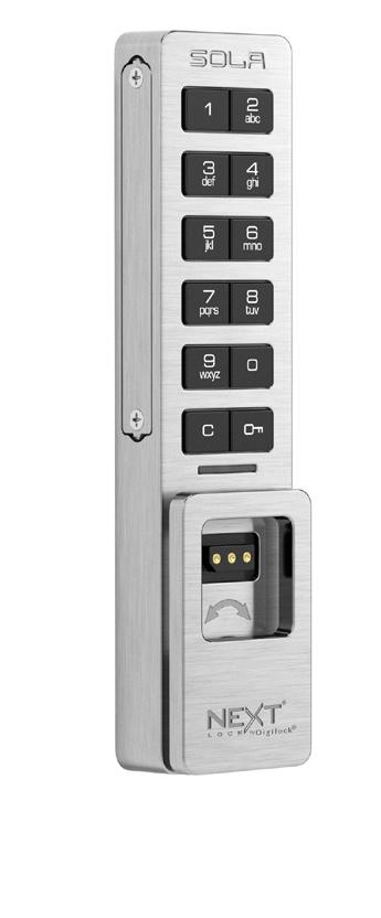Digilock代理健身房更衣室電子智能感應拍卡鎖  1