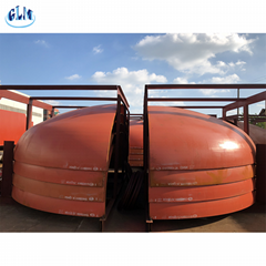 High quality stainless steel pressure vessel cover elliptical head dished end ca