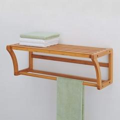 竹制毛巾架