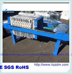 广东茂名液压压滤机1250型液压压紧自动保压