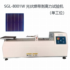 Tensile testing machine for welding strip of photovoltaic cells