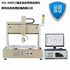 Triaxial silicone key pressure testing machine