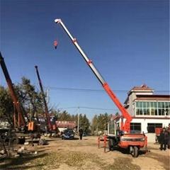 厂家出售三轮吊工程用小型起重机