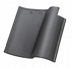 Black color Spanish Tile