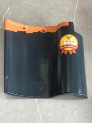 Foshan Clay glazed roof tile customized sevice