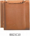Heat & cold resistant ceramic roof flat