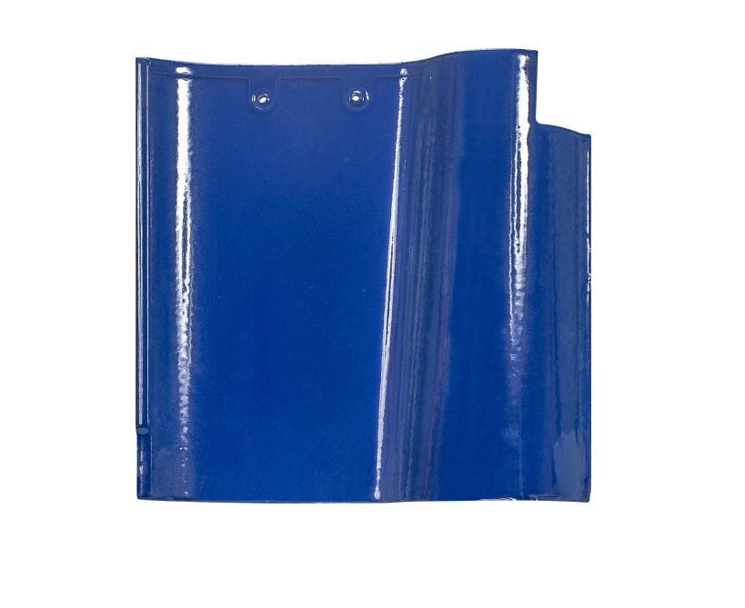 Blue color ceramic Spanish roof tile  2