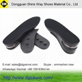 3 layers height increasing insoles with air cushion 6cm, height insole