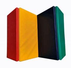 Hot sale 4-folding gym floor mat