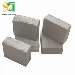 金刚石刀头用于石材锯片切割大理石和花岗岩