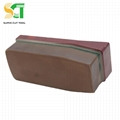 Resin polishing fickert and brick for