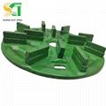 金刚石磨盘与树脂圆盘磨料用于花岗岩石材大板抛光 2
