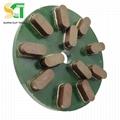 金刚石磨盘与树脂圆盘磨料用于花岗岩石材大板抛光 3