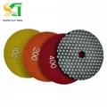 resin bond diamond polishing pad for