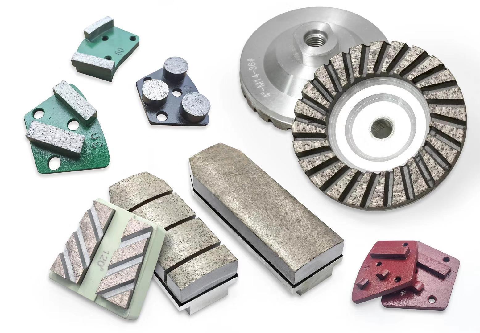 石材修边与整形的金刚石碗磨用于石材现场工程 1