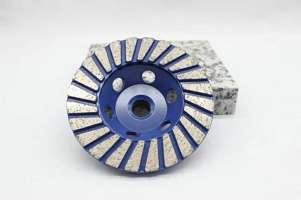 石材修边与整形的金刚石碗磨用于石材现场工程 3