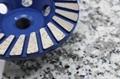 石材修边与整形的金刚石碗磨用于石材现场工程 4