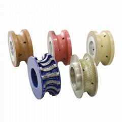 石材CNC加工机械用的各式样石材抛光打磨工具