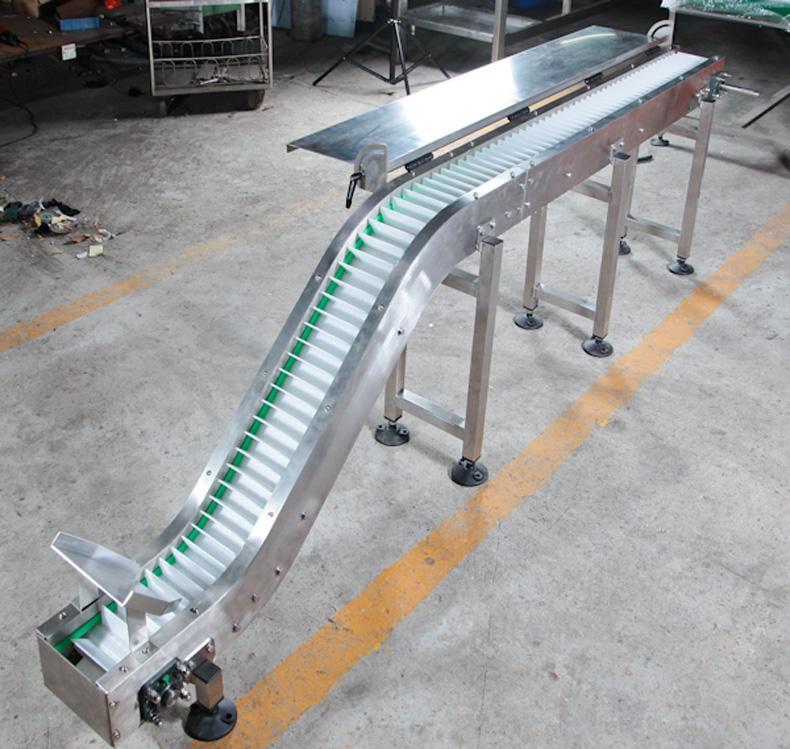 5935塑料網鏈爬坡輸送機 4