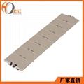 塑钢POM输送带链板平顶直链H820 2