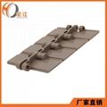 塑钢POM输送带链板平顶直链H820 3