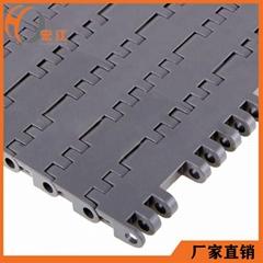 工业输送带POM平顶型塑料网链H7705