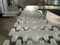 输送设备配件转弯输送机传动链齿型柔性塑料链板XH103 4