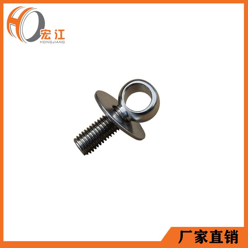 护栏支架配件304不锈钢配吊环星型螺母H183 4