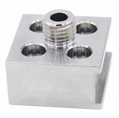 Custom Metal aluminum CNC machining rapid prototyping milling parts CNC