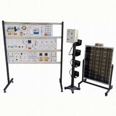 Renewable Energy Training Model On Grid Solar Power Generation Didactic System D