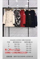 CANADA Goose women's and men's down jacket top 1:1  high quality winter jacket