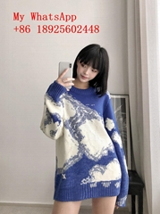 wholesale LV MEN'S and women sweater original SWEATERS high quality best price