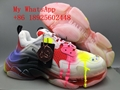 Wholesale balenciaga sneakers Balenciaga sports shoes rainbow top quality