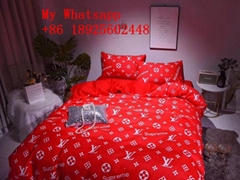 Wholesale    Bedding set of four  top quality    bed sheet best price
