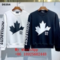 2021 newest DSQ2 clothes best price DSQUARED2 set head fleece dsquared2 hoodie