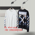 2021 newest OFF-WHITE clothes best price set head fleece OFF-WHITE hoodie