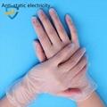 PVC powder vinyl disposable gloves