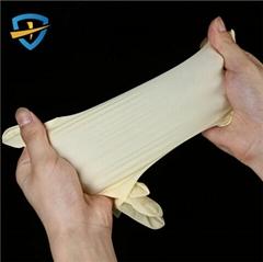 Disposable powder free latex Examination Gloves