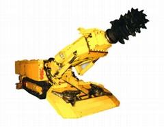 High efficiency ebz260 series coal salt hard rock mining machine