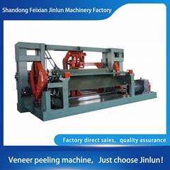 Eight-foot spindle veneer peeling machine