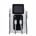 Multifunctional E-light IPL SHR +ND YAG Laser Super Hair Removal Beauty Machine