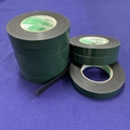 Green PE film-black double-sided foam glue