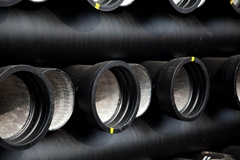 DN250-800 ISO2531 Ductile Cast Iron Pipe Class K9/C40/C30/C25 For water supply