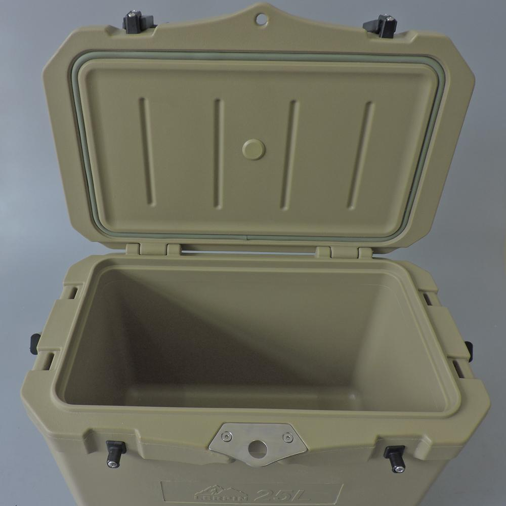 Lerpin rotomolded aluminum handle plastic blood transport ice cooler box 4