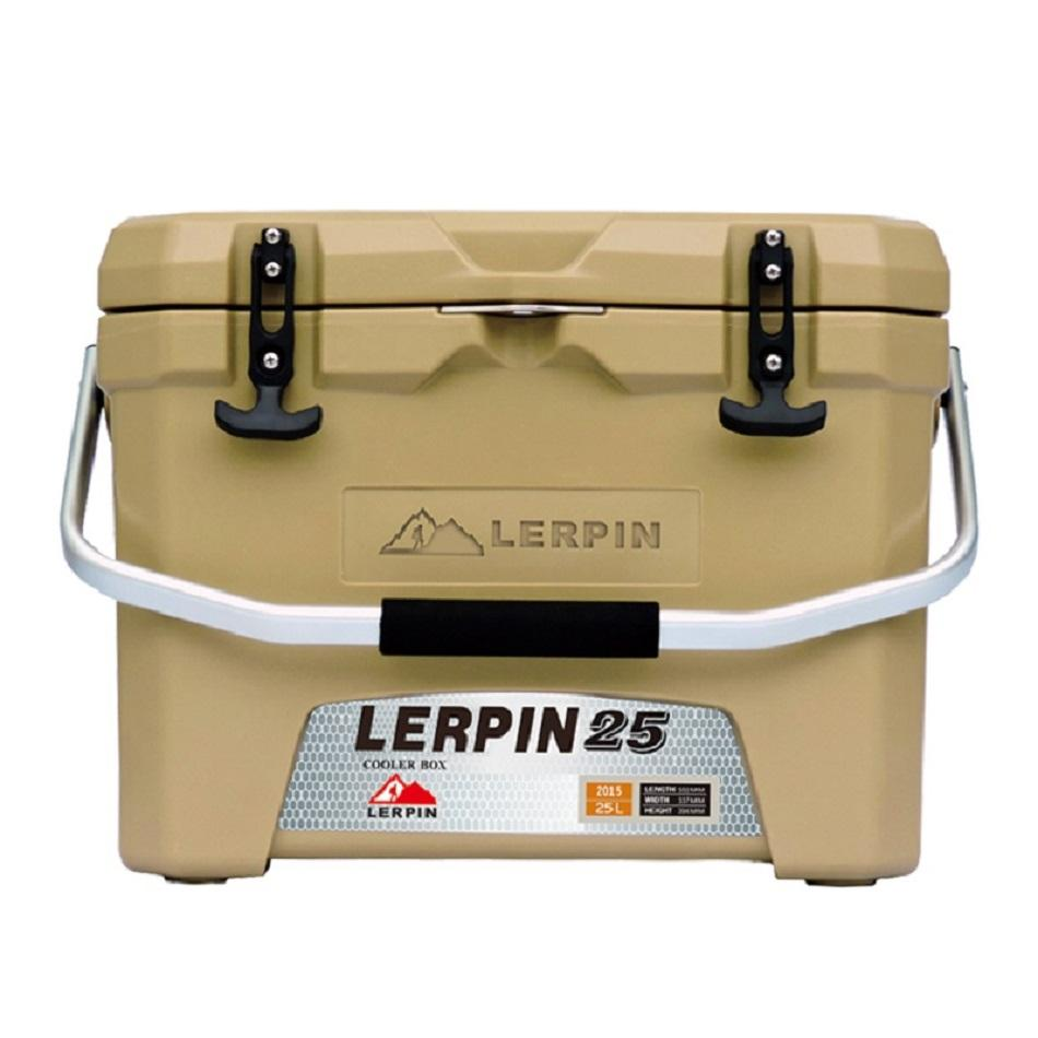 Lerpin rotomolded aluminum handle plastic blood transport ice cooler box 2
