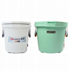 Wholesale plastic fishing ice cooler bucket manufacturer